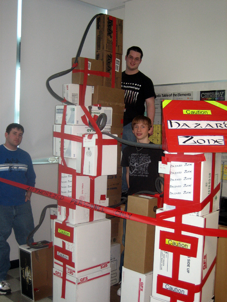 projects design unique coasters. The Hazard Zone team with their coaster Pipe Insulation Roller Coasters  Re thinking